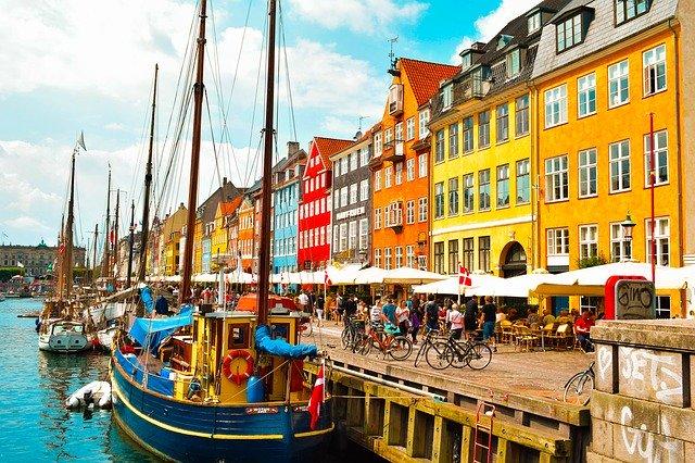 kanál v Kodani